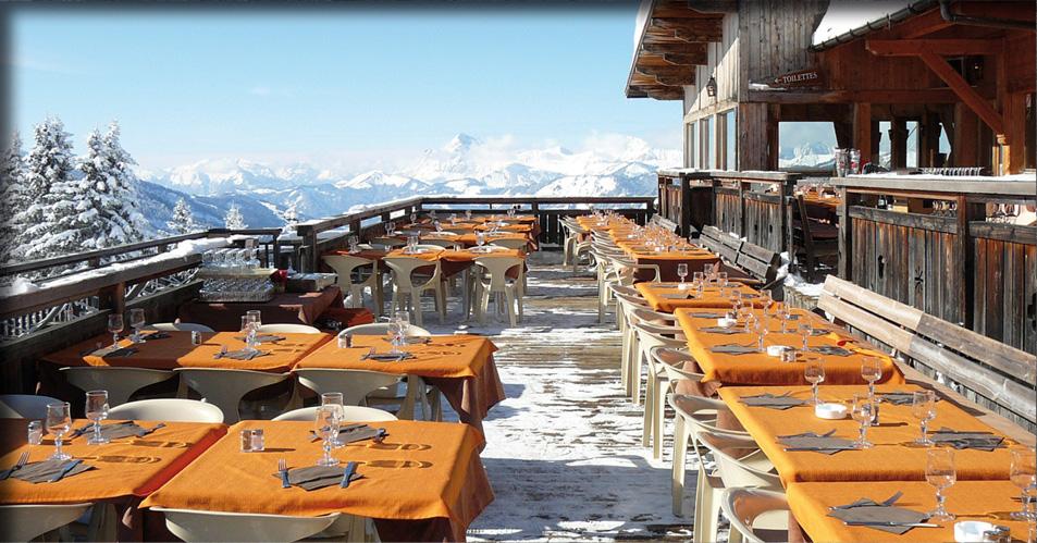 Les mandarines megeve note avis prix - Restaurant d altitude chamrousse ...